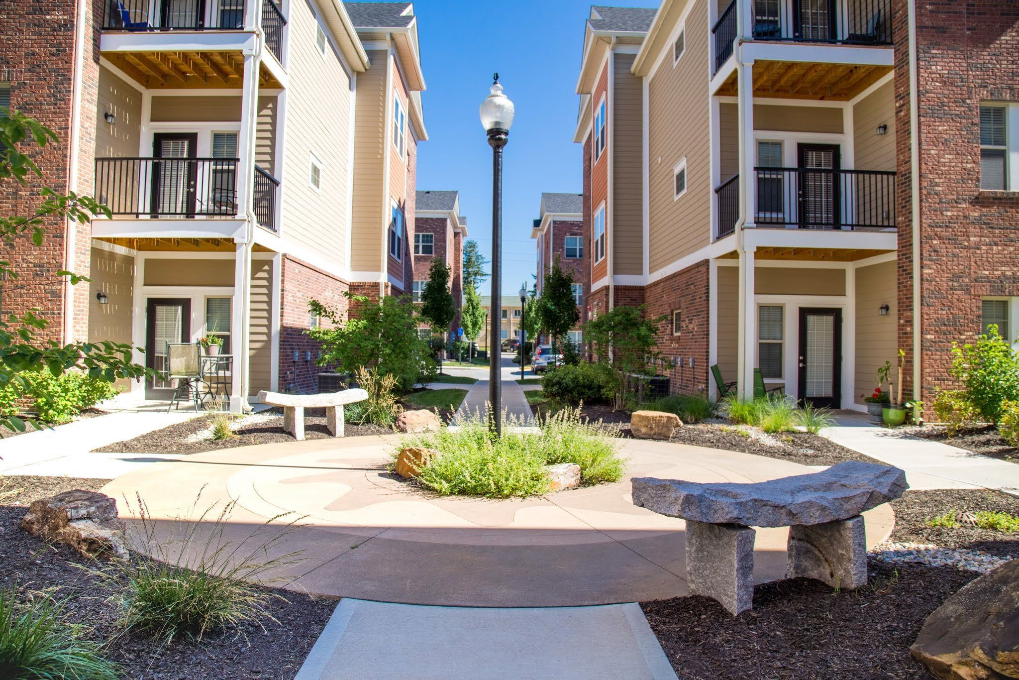Image result for curb appeal apartment complexes
