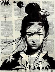 Loui Jover Silhouettes Et Papier Journal Avec Images Dessin