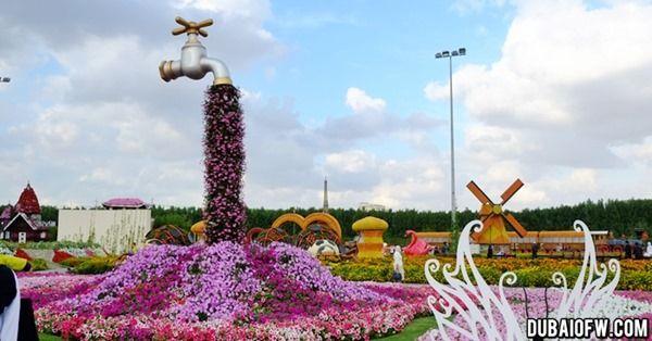dubai miracle garden uae | NATHAN | Pinterest | Gardens