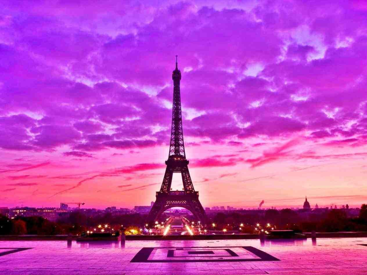 Pink Vintage Paris Wallpaper Infotravelclub