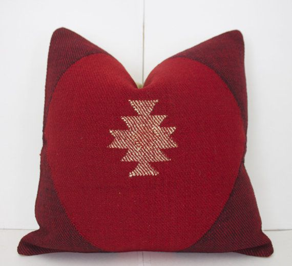 Oriental Rug Pillow Interior Design Throw Pillow by wenkilimshop