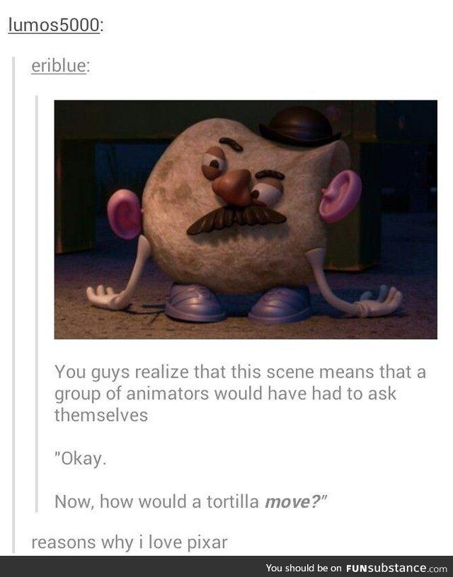 Pixar. - FunSubstance