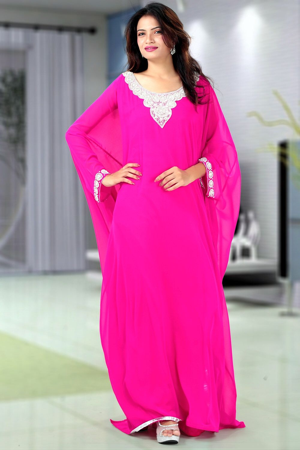 Dubai very fancy kaftans / abaya jalabiya Ladies Maxi Dress Wedding ...