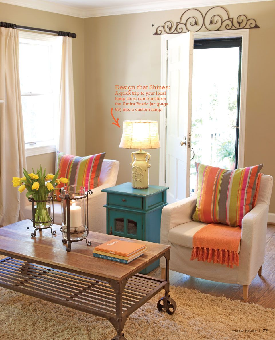 Add Pops Of Color...easy To Do And Change Out When You