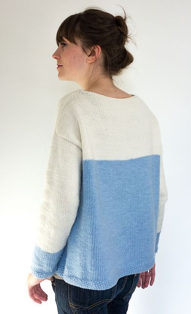 132aa9994768 Baby blue sweater pattern by anna ravenscroft