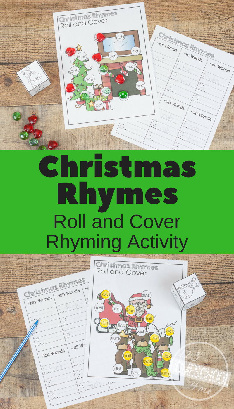 FREE Christmas Rhymes Activity | Pinterest | Kind