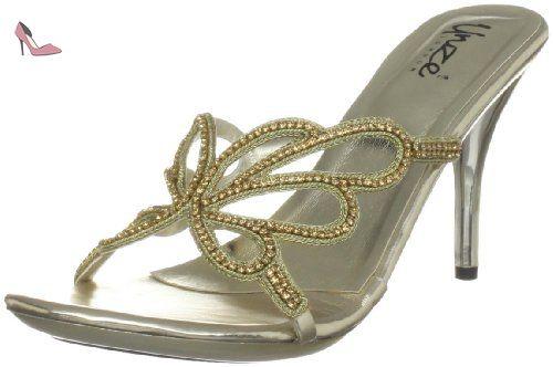 Evening Slippers, Damen Slipper, Gold (L18296W) EU 37 Unze