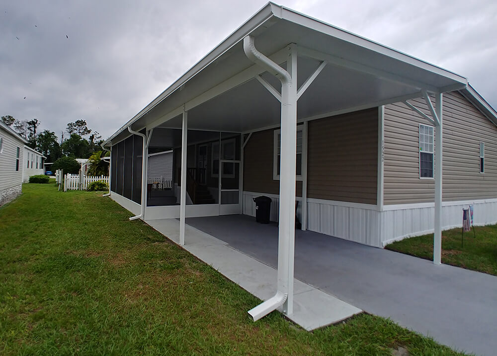 Aluminum Carports for residential and commercial