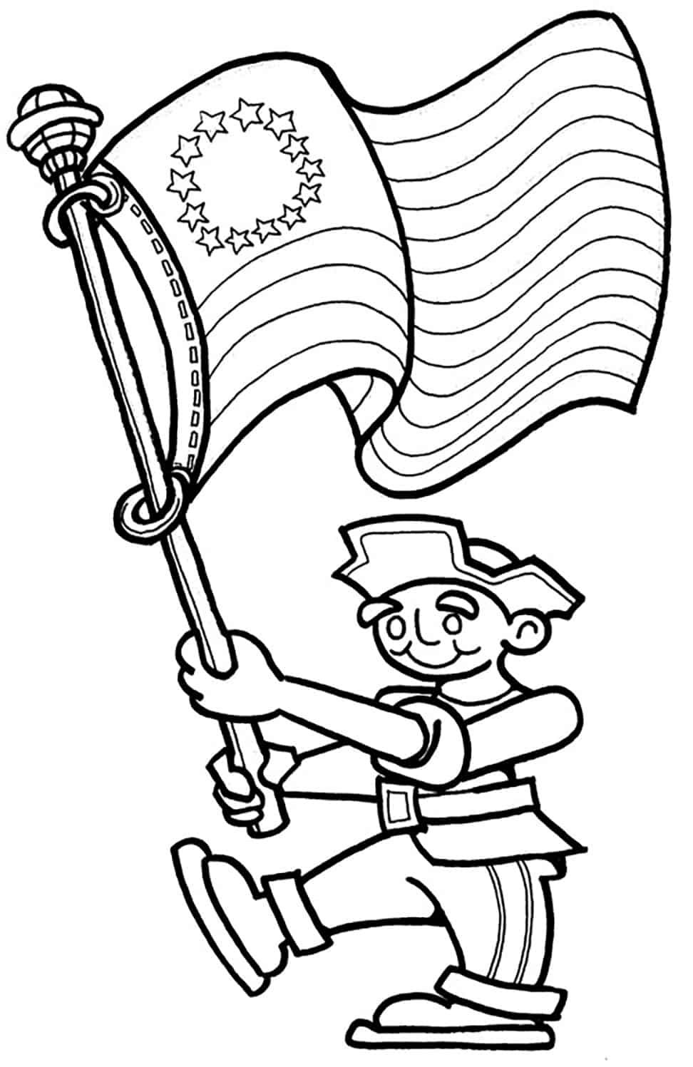 Free 4th Of July Coloring Pages Eku 4th Of July Fireworks 4th