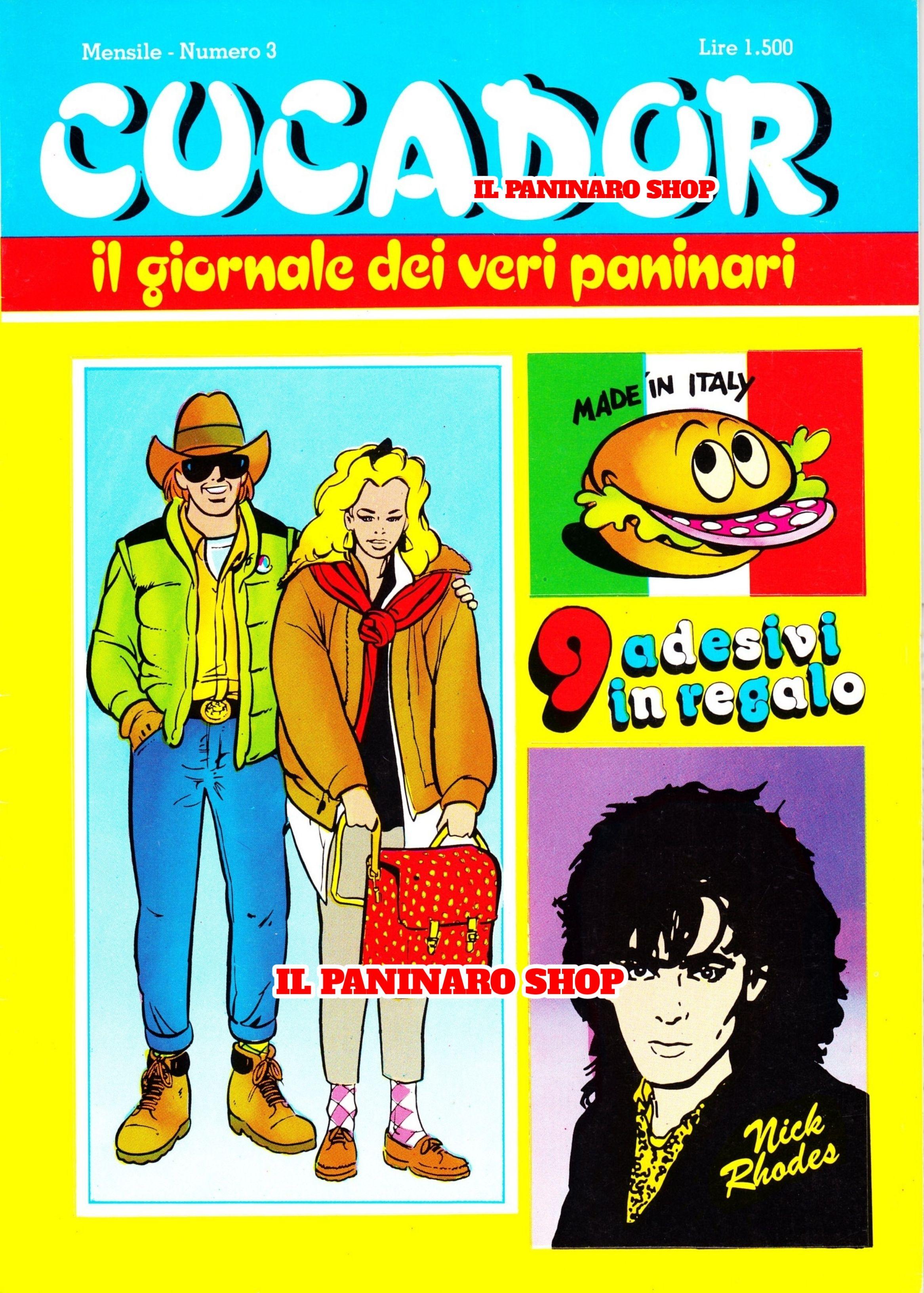 """/""""PANINARO/"""" CUCISIVO 7,5 cm ADESIVO PATCH TOPPA EDIFUMETTO ANNI 80 I NUOVI GALLI"""