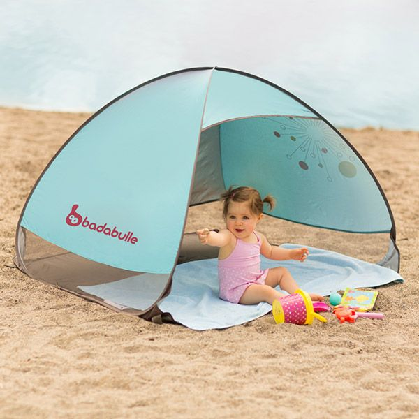 The Badabulle Anti-UV Tent provides your child with a safe shelter from the sun at the beach or in the garden!  sc 1 st  Pinterest & Tente anti-uv bébé lagon Badabulle | Infant Kids Outdoor Fun ...