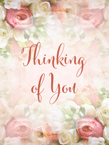 With Caring Thoughts Oriental Thinking of You card