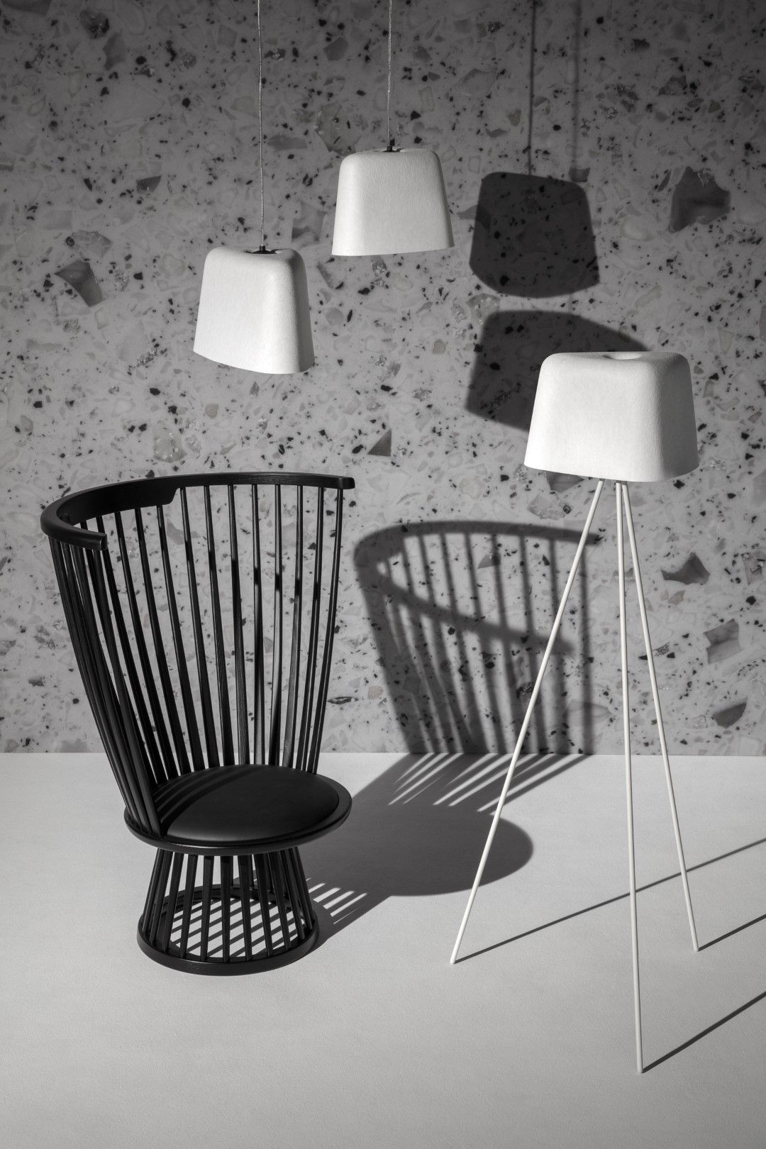 Buy Tom Dixon Fan Chair Black Amara In 2020 Luxury Interior Floor Lights Furniture Inspiration