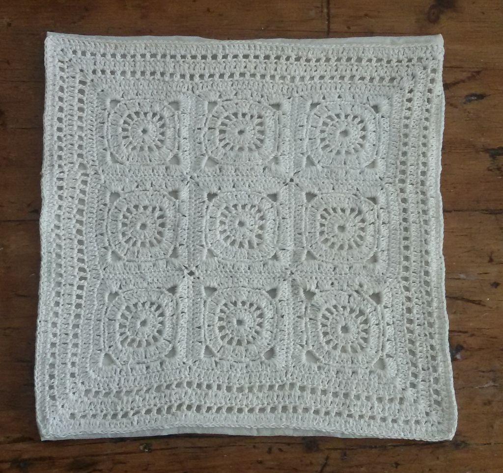 Almohadones en Hilo Macrame Tejidos a Crochet