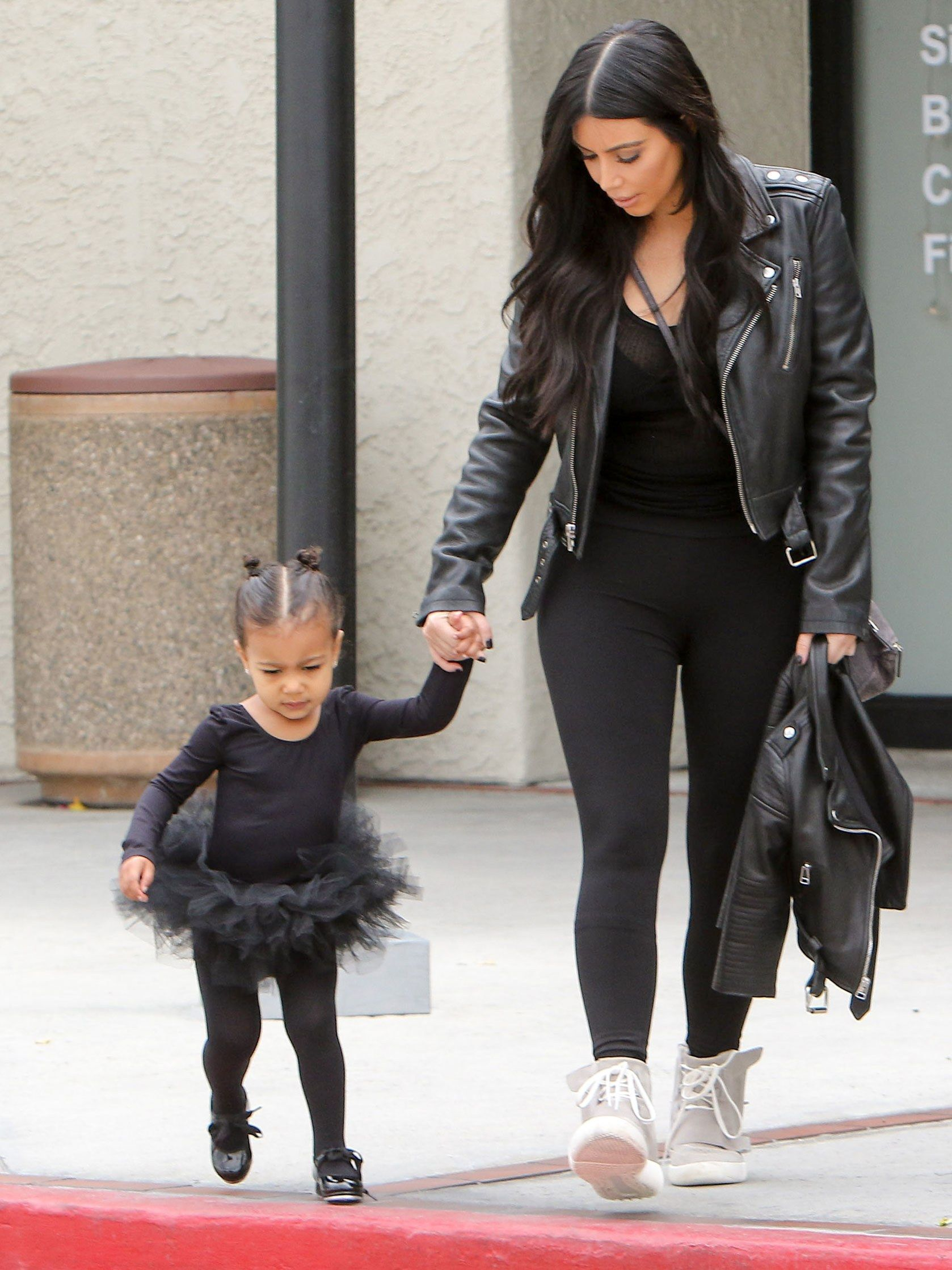 North West Turns 4 Today—But She s Been a Hair Star Since Birth