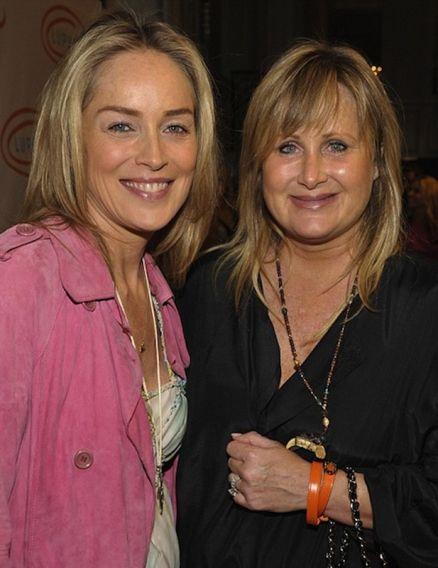 Sharon Stone loves her little sister Kelly.