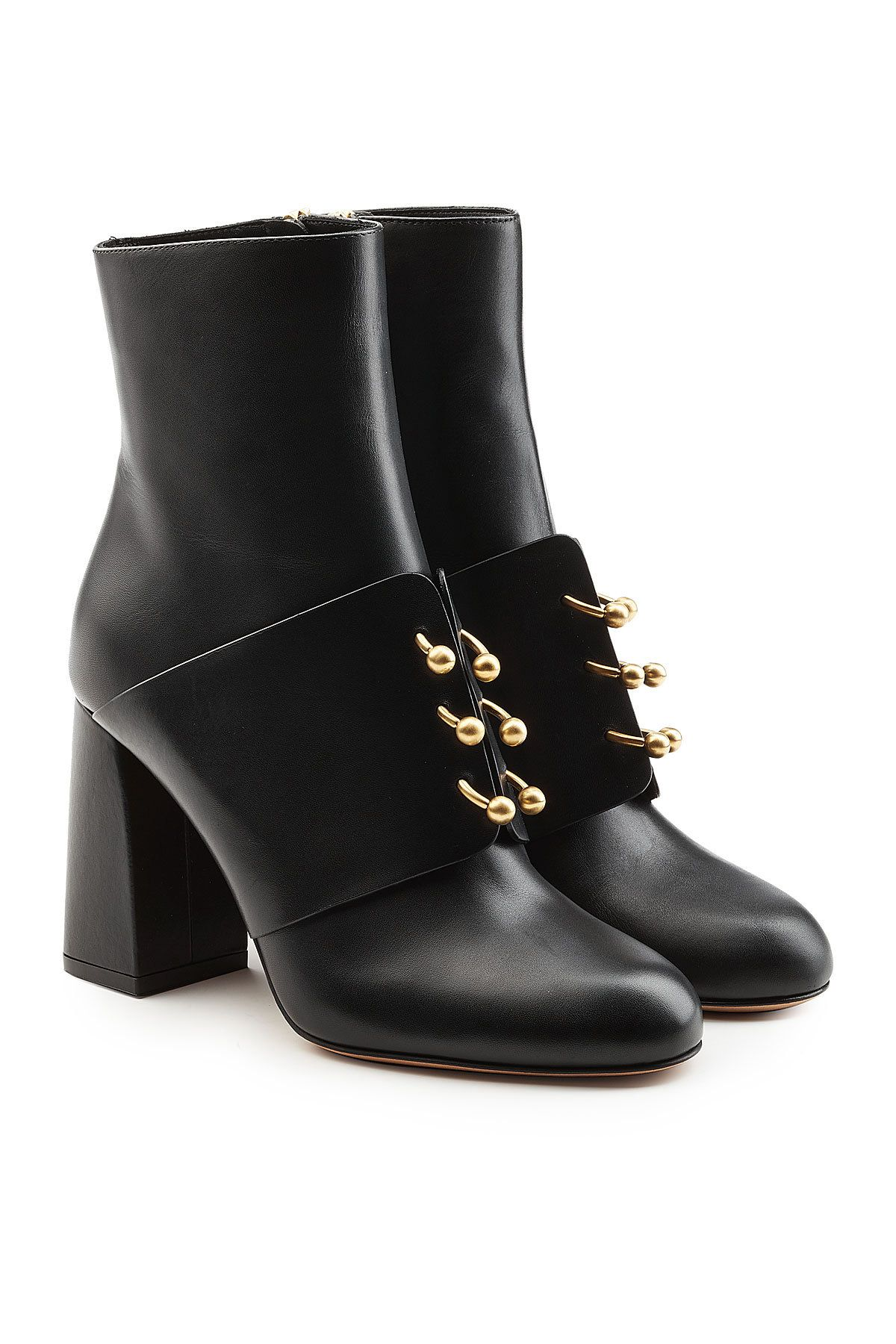 REDValentino Embellished leather Chelsea boots collections cheap price original cheap price perfect sale online CSrfq