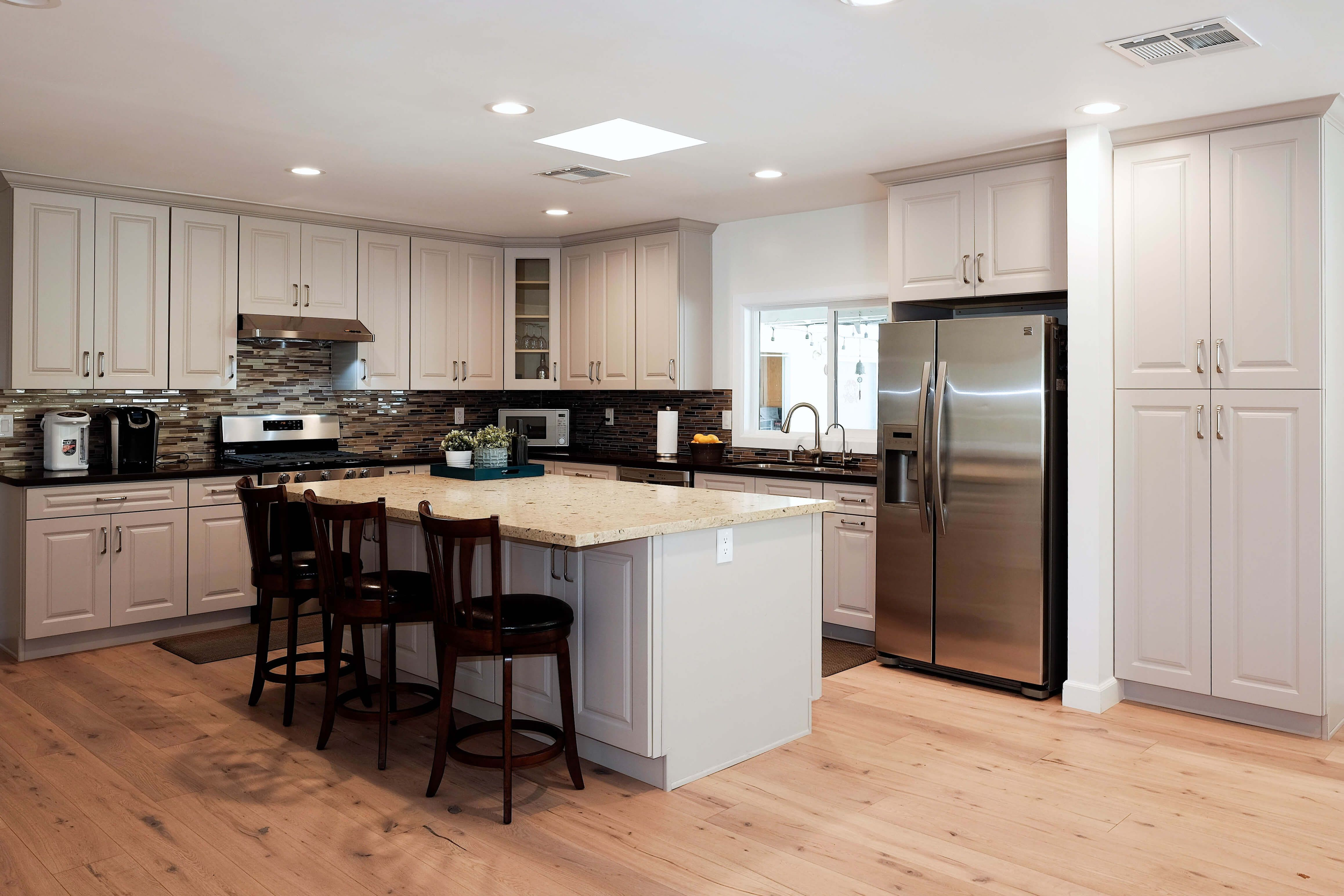 Best Ash Taupe By Cabinetcity In A New Remodeled Kitchen In 400 x 300