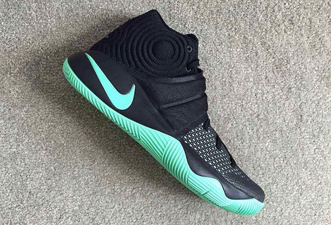 super popular 12719 a2ba0 Nike Kyrie 2 Black Green Glow Release Date