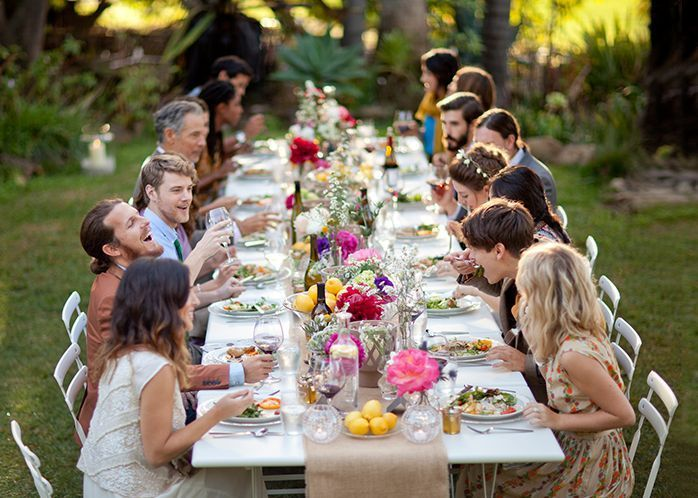 Casual Backyard Wedding Reception casual backyard wedding - google search | wedding ideas in 2018