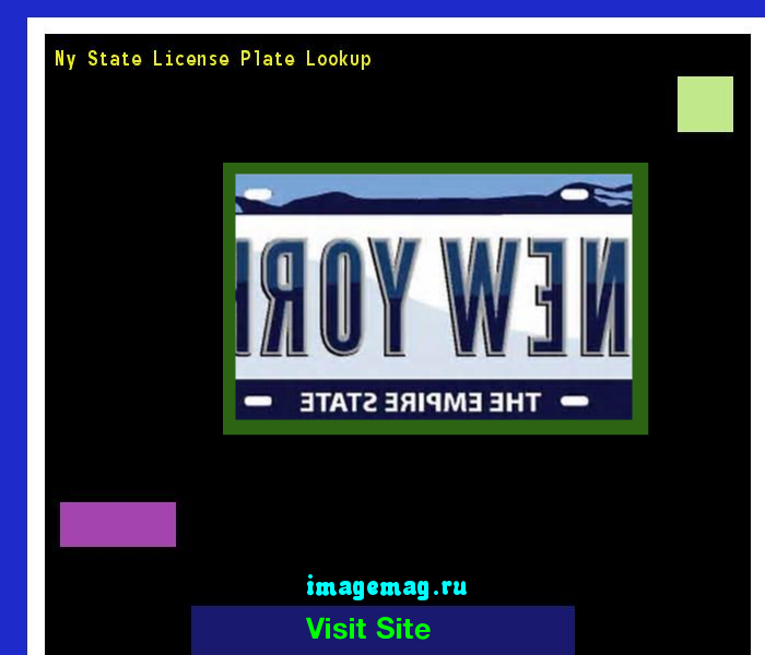 ny state license plate lookup 162402 - the best image search