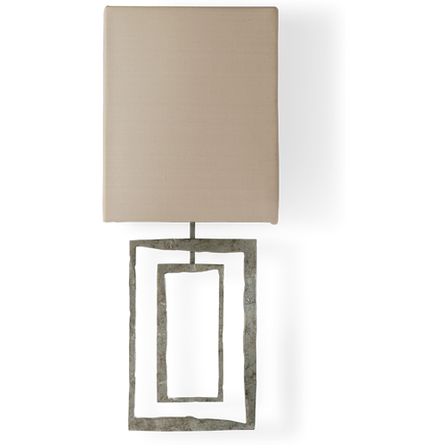 Porta romana twl72 salpertini wall light decayed silver