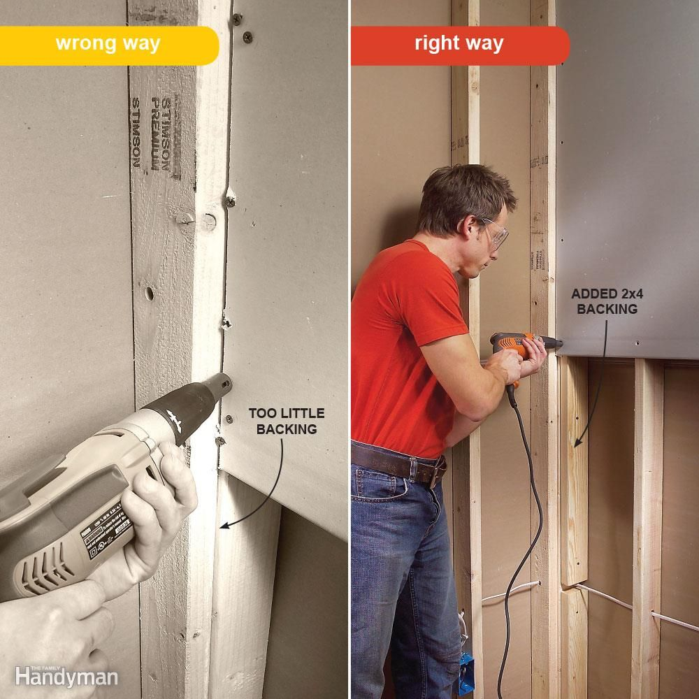 7 Drywall Installation Mistakes You Ve Probably Made Before Drywall Installation Hanging Drywall Drywall