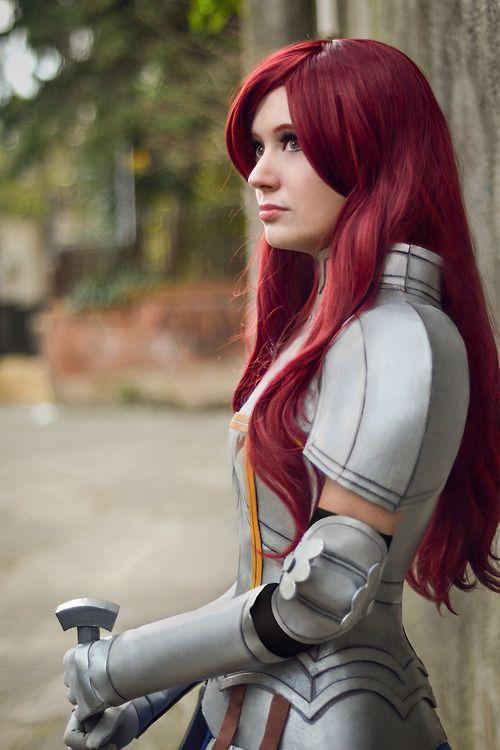 erza scarlet armor cosplay cosplay pinterest erza