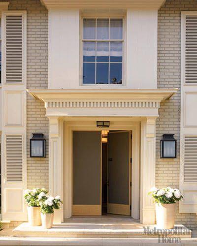A Barbara Barry Renovation Beautiful Front Doors Door Makeover Doors