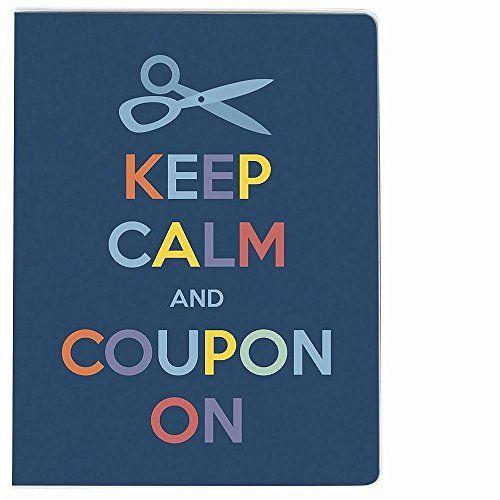Amazon.com: Ultra PROÂ Large Coupon Organizer Portfolio - Keep Calm and Coupon On -: Kitchen & Dining