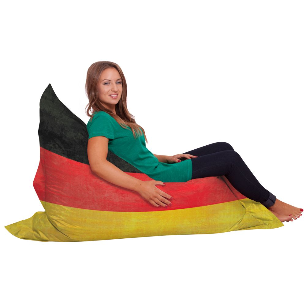 Phenomenal Get Comfy In A German Flag Slouch Sack Bean Bag By Creativecarmelina Interior Chair Design Creativecarmelinacom