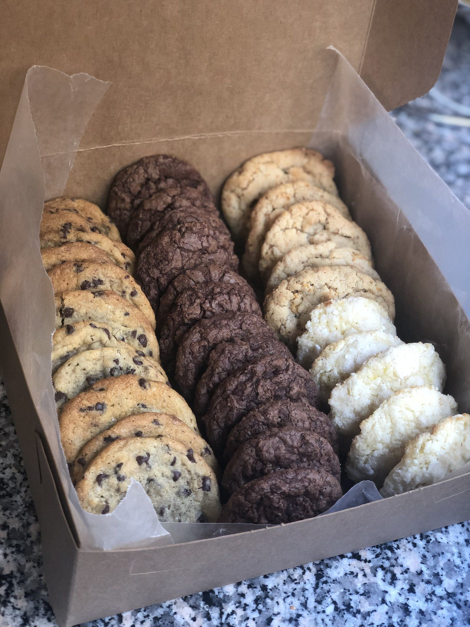 Order a Large Cookie Box — Salt and Sugar Bakery