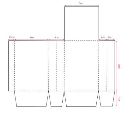Бумажные пакеты своими руками (простой способ) 54