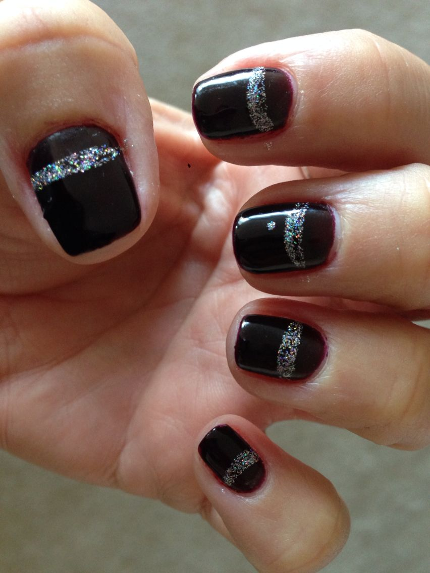 My gel nails for a few weeks! (Perfect Match brand called \