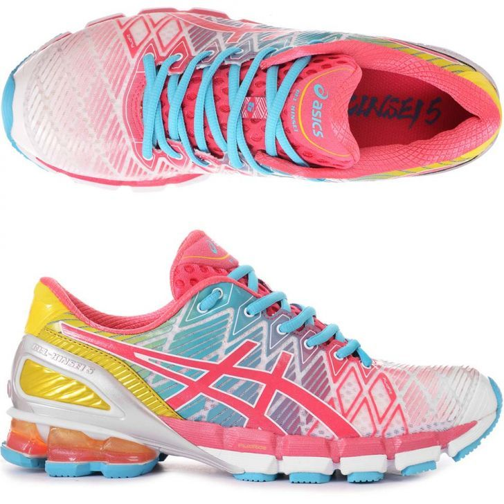 Tenis Asics Gel Kinsei 5 Colorido Kanui Tenis Sapatos