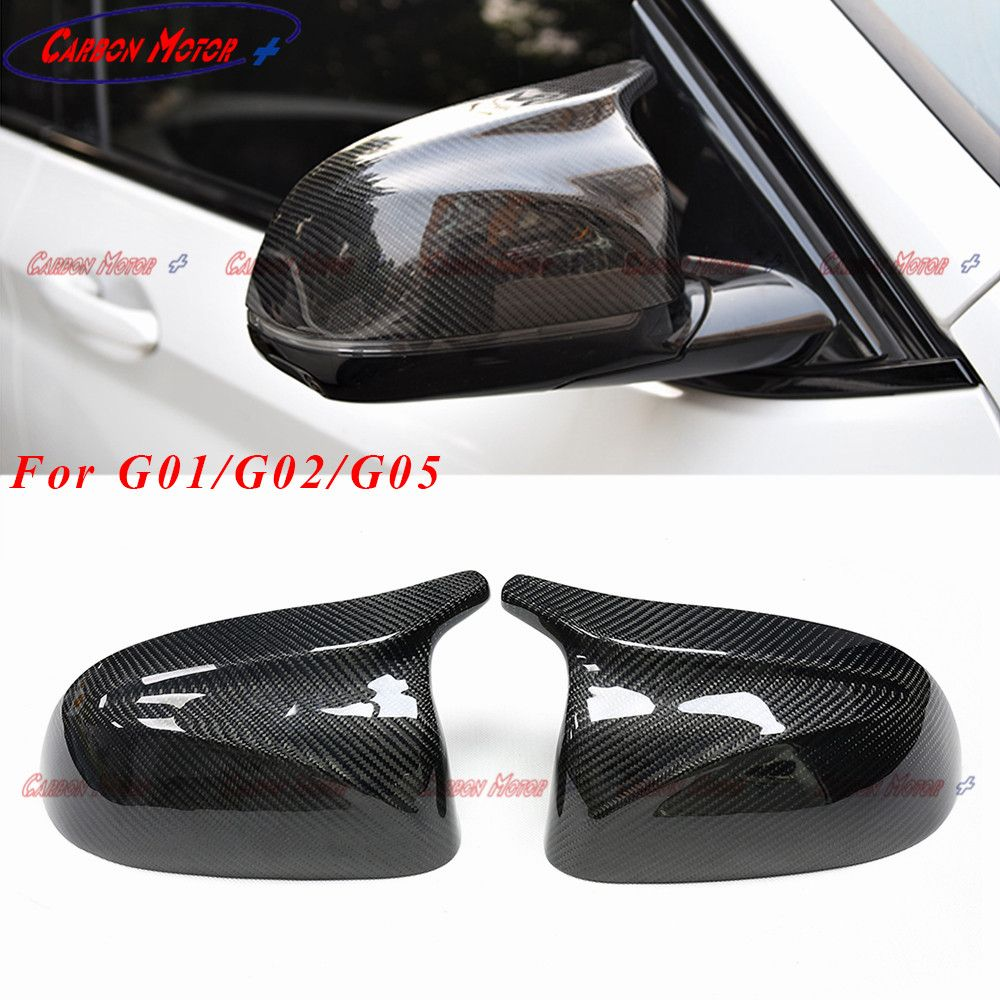 M Style Carbon Fiber Mirror Cover for New X3/X4/X5 G01 G02