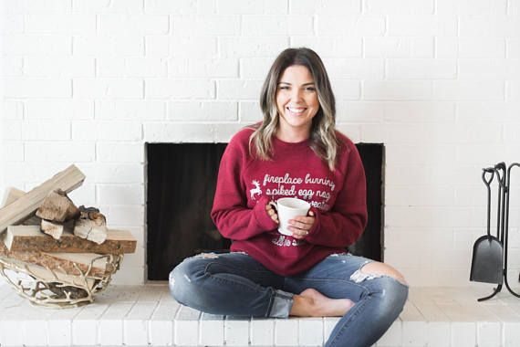 Mom Holiday Sweatshirt, Family Christmas Pajamas, Christmas T-Shirt for Mom, Mom Christmas Tshirt, Funny Holiday Sweatshirt for Women