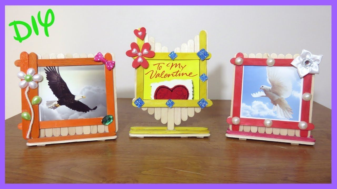 32 Easy Best Diy Picture Frame Crafts With Images Picture