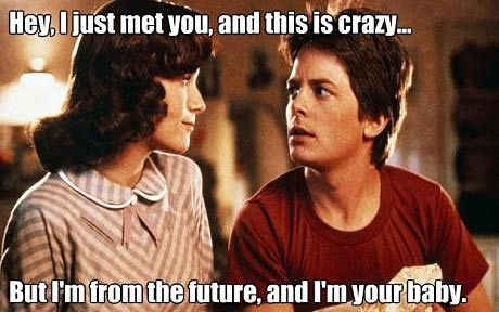haha, oh Back to the Future...