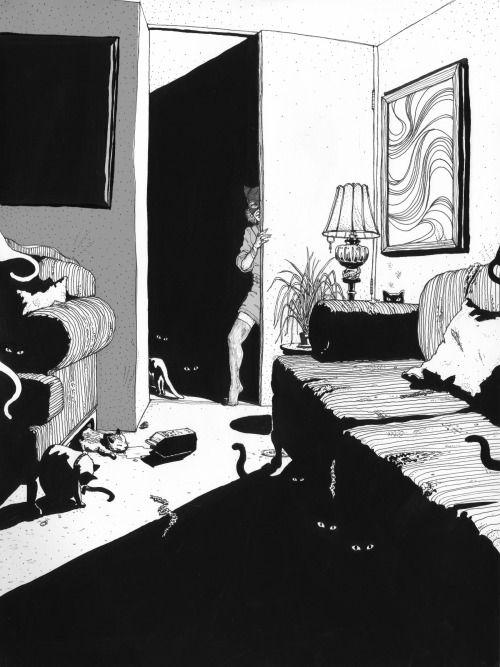 "snowce: "" victorg - Le Catwoman """