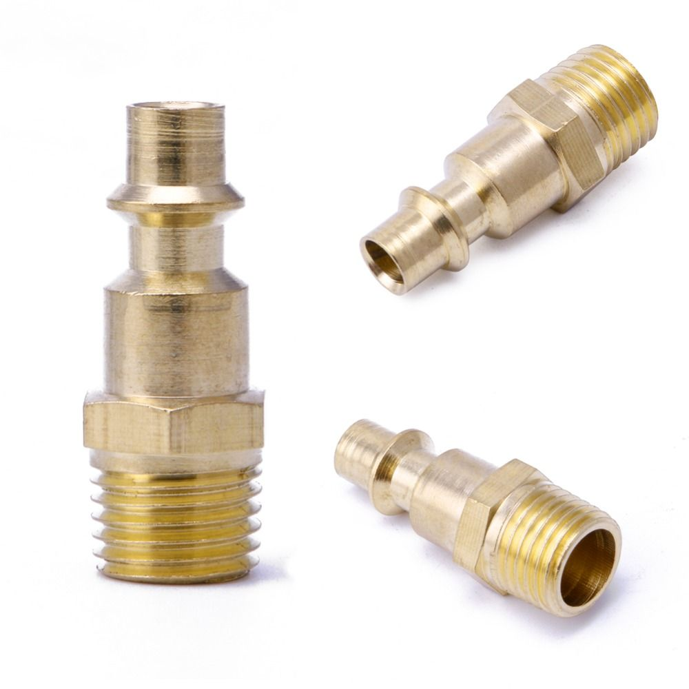 1 4 Npt Quick Coupler Air Line Hose Compressor Fittings Continental Male Connector Tool With Images Air Hose Hose Connector Cool Things To Buy
