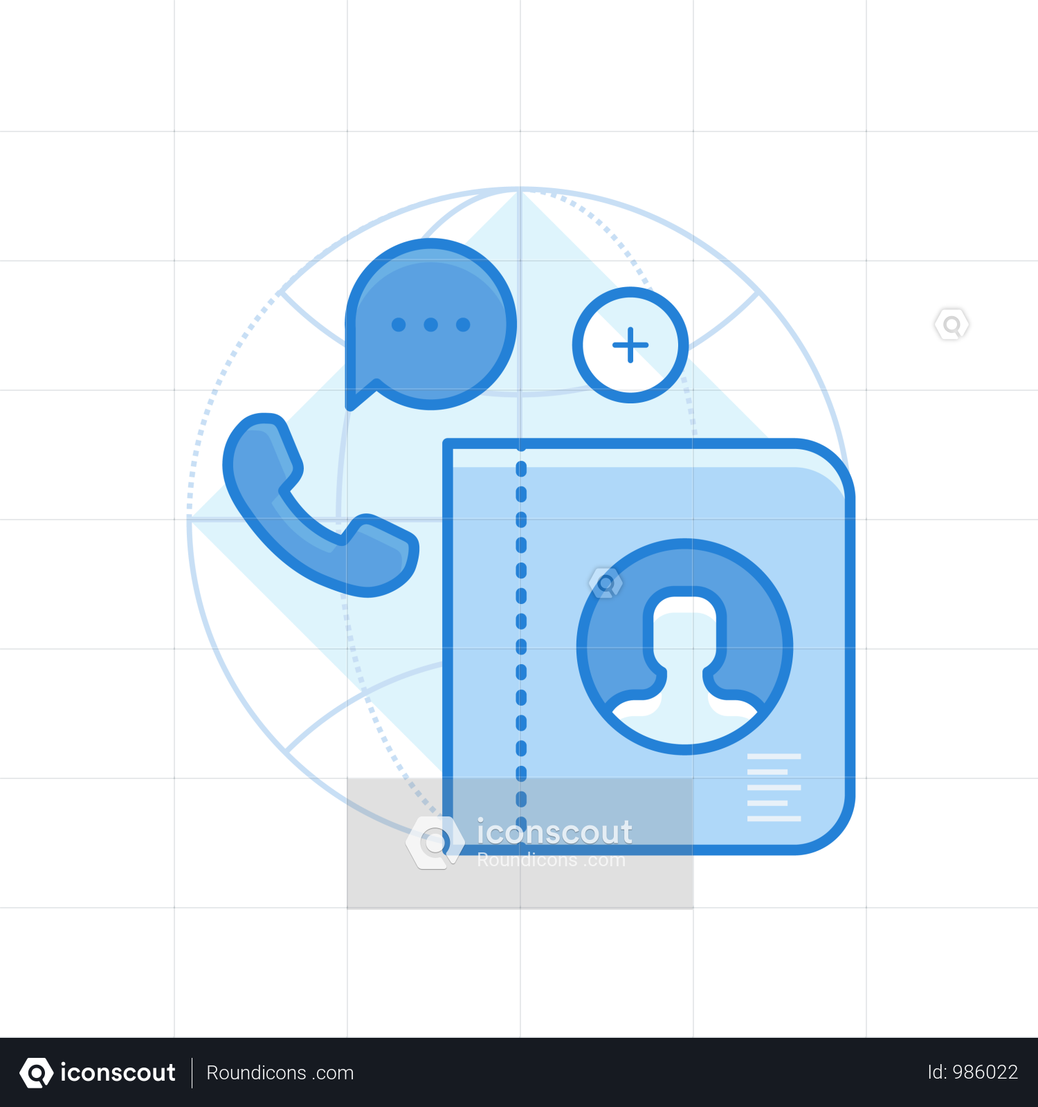 Premium Contacts Illustration Download In Png Vector Format Illustration Mobile Interface Smartphone Features