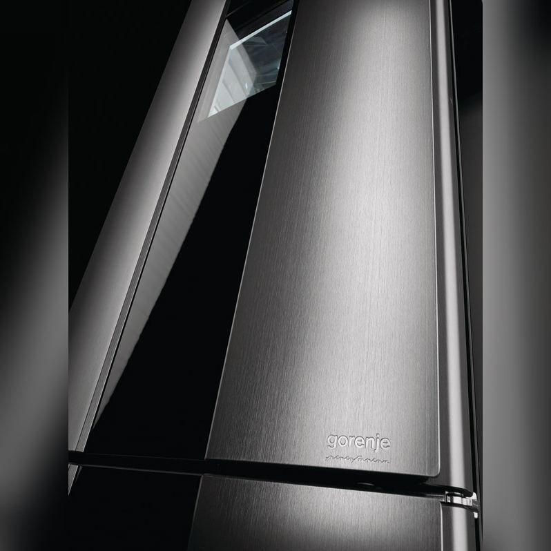 Gorenje De refrigerador gorenje steel collection assinado pelo estúdio italiano