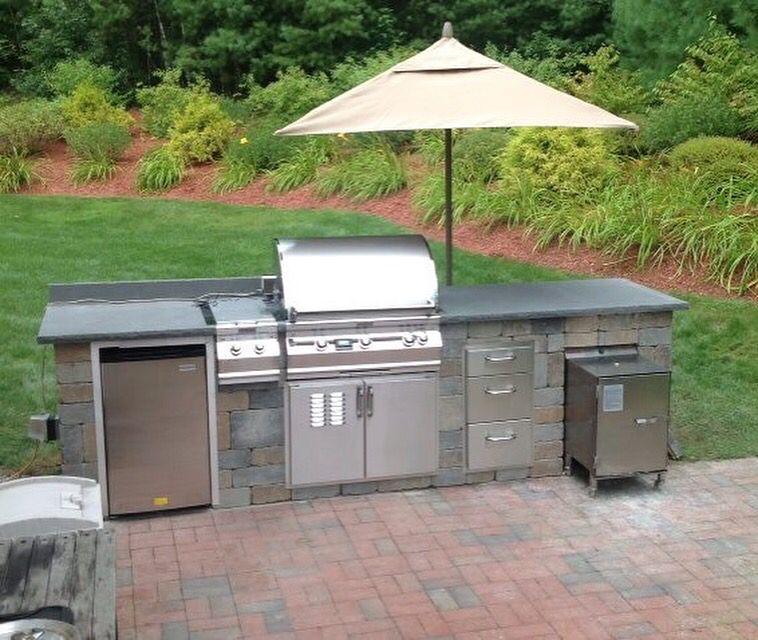 Time To Start Planning That Outdoorkitchen With A Built In Smokintex Smoker Http Www Smokintex Com O Outdoor Barbeque Outdoor Barbeque Area Outdoor Kitchen