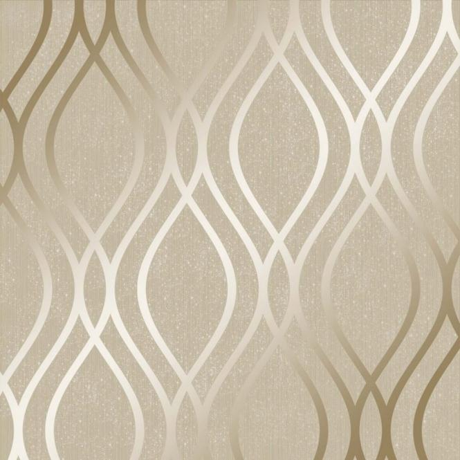 Camden Wave Wallpaper Cream Gold Wallpaper Designs For Walls Gold Wallpaper Living Room Cream And Gold Wallpaper