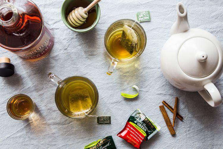 Hot Toddy, Tea, Green