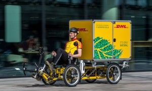 Dhl Introduces Cubicycle To Netherlands Operations An Electric