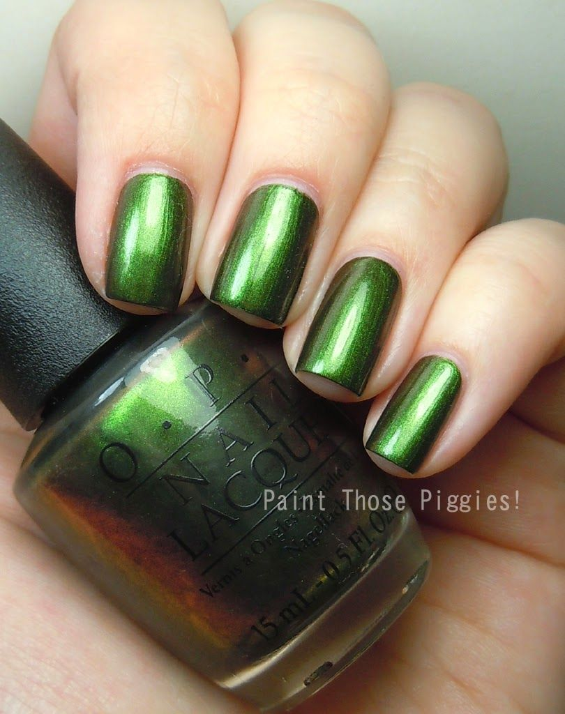 OPI Green on the Runway by Paint Those Piggies! | Nail Polish ...
