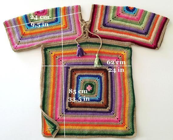 Photo of Sweater dress Leggings dress Plus size tunic Crochet cotton | Etsy