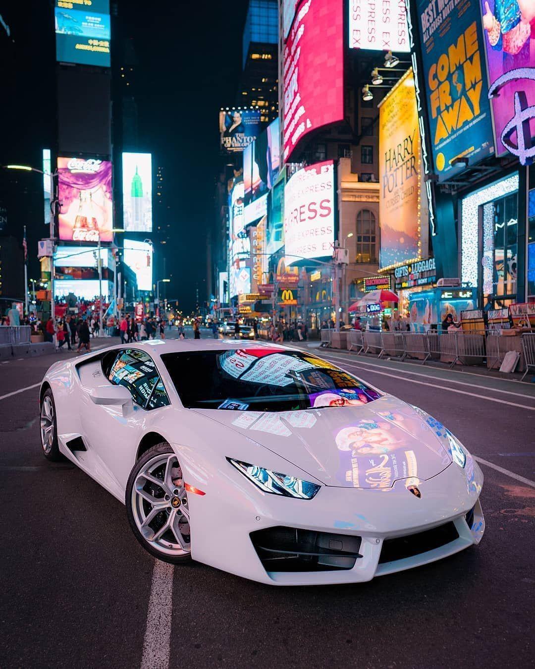 Lamborghini Huracan In New York Follow Speed Crc For More Street Racing Cars Best Luxury Cars Lamborghini Cars